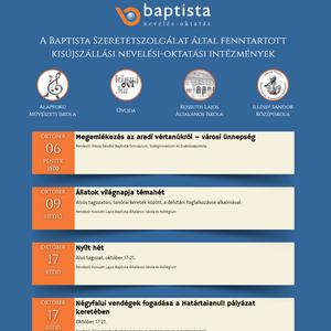 Baptista nevelés-oktatás
